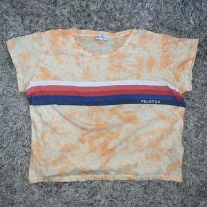 Peloton custom tie dye t-shirt size XL